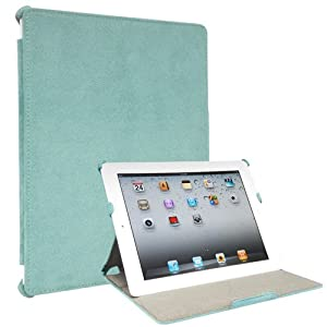 Colorspill 2 Microfiber iPad 2 Case - Blue