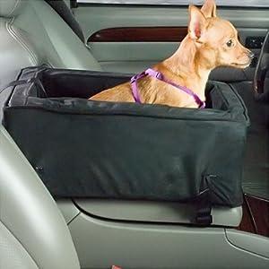 Snoozer Luxury Console Pet Car Seat, Large Luxury, Olive/Coffee