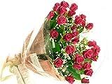 花工房花贈りエーデルワイス フラワーギフト 赤いバラ〔レッドローズ〕の花束80本