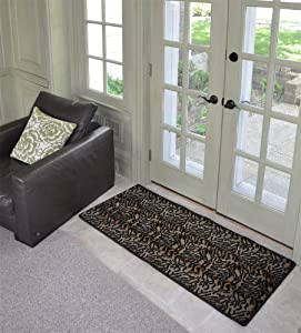 tiger double door 72 x 32 home mat for kitchen bath entry doormats patio. Black Bedroom Furniture Sets. Home Design Ideas