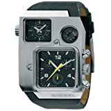 Diesel Watches Men's Super Bad Ass W Compas (Black)