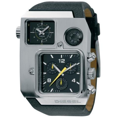 Diesel Watches Men's Super Bad Ass W Compas (Black)