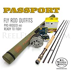 Winston Passport 790-4 Fly Rod Outfit (9