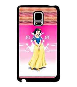 Printvisa 2D Printed Girly Designer back case cover for Samsung Galaxy Note Edge- D4131