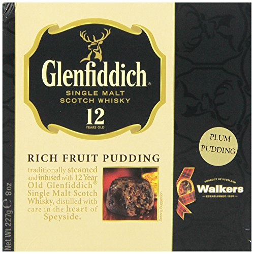 Walkers Shortbread Glenfiddich Rich Fruit Pudding, 8-Ounce Boxes (Pack of 2) (British Christmas Cake compare prices)