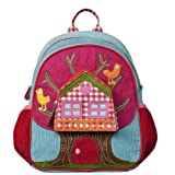 Room Seven Girl's Small Backpack Treehouse. Measures 11