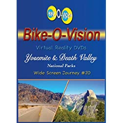 Bike-O-Vision Cycling Journey- Yosemite & Death Valley National Parks (WS #20) [Blu-ray]