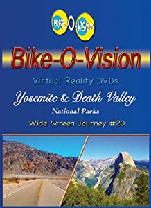 Bike-O-Vision Cycling Video- Yosemite & Death Valley National Parks (Widescreen DVD #20)