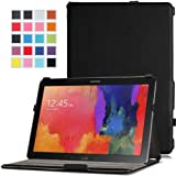 MoKo Samsung Galaxy Note PRO & Tab PRO 12.2 Case - Slim-Fit Multi-angle Folio Cover Case for Galaxy NotePRO & TabPRO 12.2 Android Tablet, BLACK (With Smart Cover Auto Wake / Sleep)