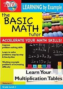 Basic Math Tutor: Learn Your Multiplication Tables