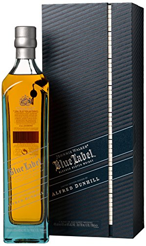 Johnnie Walker discount duty free Johnnie Walker Blue Label Dunhill Limited Edition Gift Box 70 cl