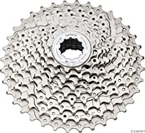 Shimano CS-HG61 Deore 29er Bicycle Cassette (9-Speed, 12/36T, Silver)