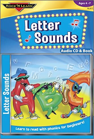 Letter Sounds [With Paperback Book] (Rock 'n Learn)