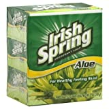 Irish Spring Aloe 3 Bar - 18 Pack by Irish Spring