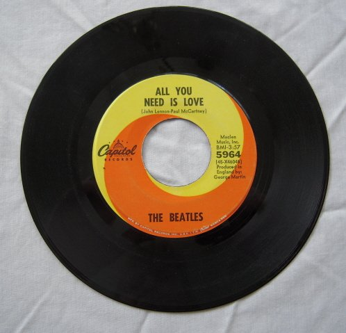 The Beatles - All You Need is Love [Single] - Zortam Music