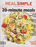 Real Simple Magazine August 2013