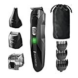 Remington PG6025 Trimmer (8 Pieces) All-in-1 Lithium Powered Grooming Kit