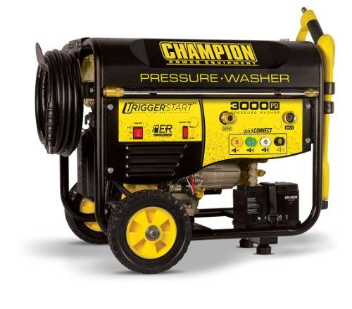 Champion Power Equipment No 76522 Trigger Start 3000psi Portable Gas Powered Pressure Washer