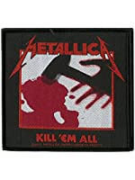 Metallica Kill Em All Official New Patch (10cm x 10cm)