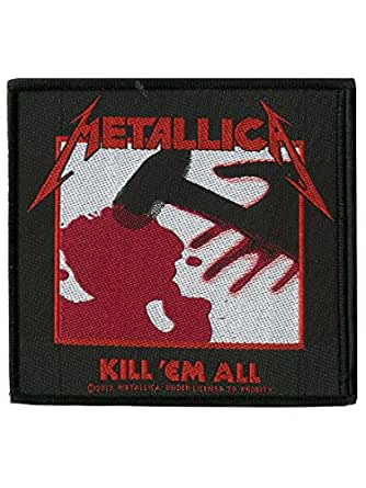 Metallica Kill Em All Official New Patch (10cm x 10cm)