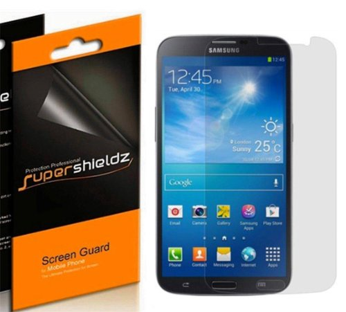 Supershieldzz-Hd Clear Screen Protector Cover For Samsung Galaxy S4 Active (6 Packs)- Lifetime Replacement- Retail Packaging