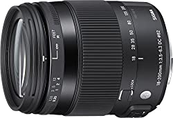 Sigma 18-200MM F/3.5-6.3 DC Macro OS HSM Contemporary For Nikon