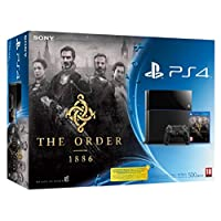 Console PS4 500 Go Noire + The Order 1886