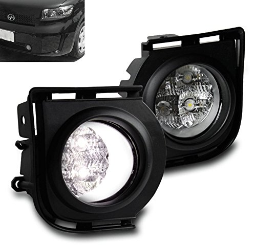 ZMAUTOPARTS Scion XB Front Bumper Driving LED Fog Light Chrome W/Harness+Switch Kit (Scion Xb Harness compare prices)
