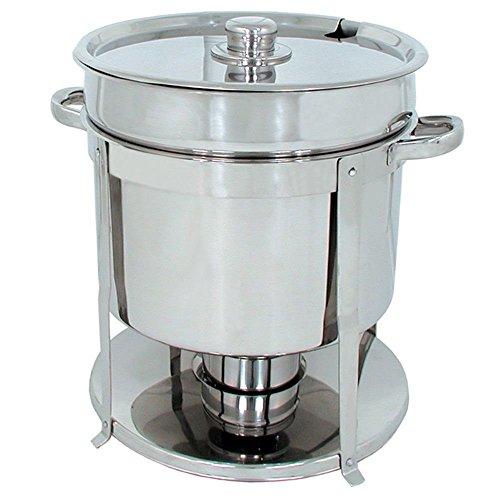 Update International (CM-11) 7 qt Stainless Steel Round Chafer