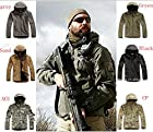 TAD Gear Tactical Softshell Camouflage Outdoors Jacket Set Men Army Sport Waterproof Hunting Clothes Set Military Jacket