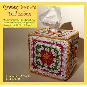 Tücherbox aus Granny Squares
