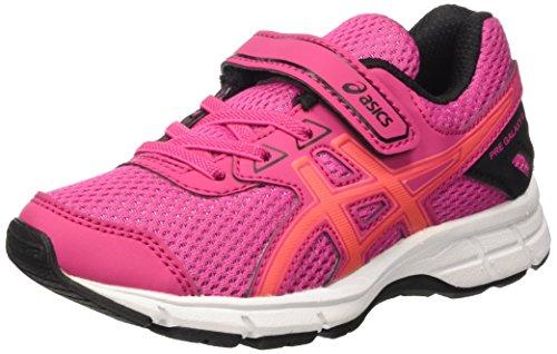 Asics Pre Galaxy 9 Ps, Scarpe da Ginnastica Unisex Bambini, Rosa (Sport Pink/Flash Coral/Black), 34 1/2 EU