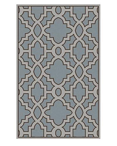 Surya Candice Olson Modern Classics Rug, Neutral/Blue, 5' x 8'