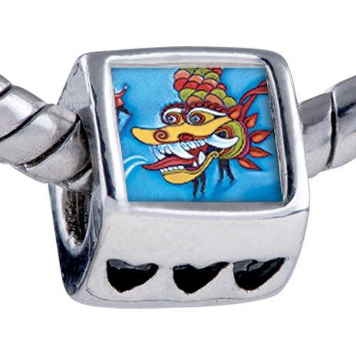Pugster Bead Chinese New Year Dragon Beads Fits Pandora Bracelet
