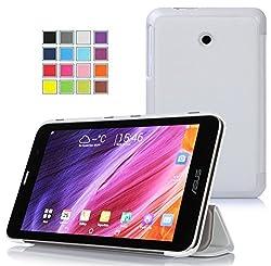 VSTN ® ASUS MeMO Pad 7 ME170CX / ASUS MeMO Pad 7 ME170C/ ASUS Fonepad 7 FE170CG ultra-thin Smart Cover Case, Only fit ASUS MeMO Pad 7 ME170CX / ASUS MeMO Pad 7 ME170C/ ASUS Fonepad 7 FE170CG tablet (White)