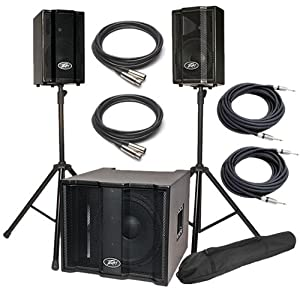 peavey triflex ii portable pa sound system musical instruments. Black Bedroom Furniture Sets. Home Design Ideas