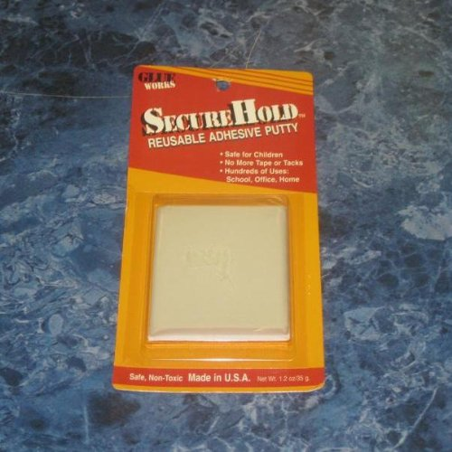 SecureHold White Reusable Adhesive Putty