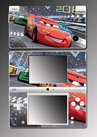 Cars 2 Lightning Movie Game Game Vinyl Decal Skin Protector Cover #3 Nintendo DSi