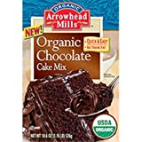 Arrowhead Mills Chocolate Cake Mix Organic, 18.6 Ounce Boxes (Pack of 6)
