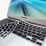 GMYLE(R) Black Silicon Keyboard Cover (US Layout) for Samsung ARM 11.6