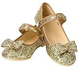 New Puppet Workshop Gold Glitter Shoes Little Girls 2