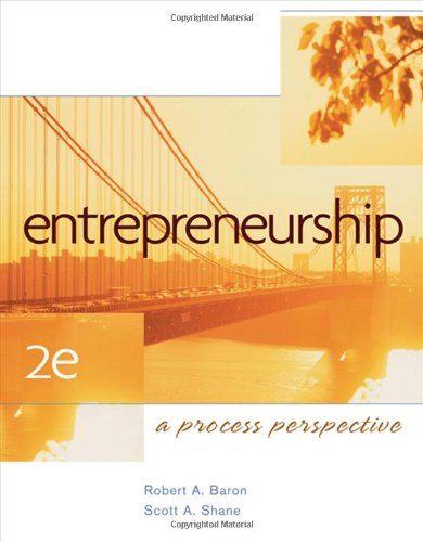 Entrepreneurship: A Process Perspective