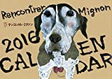 ミグノンプラン(MignonPlan) 2016保護犬イラストカレンダー A4壁掛け