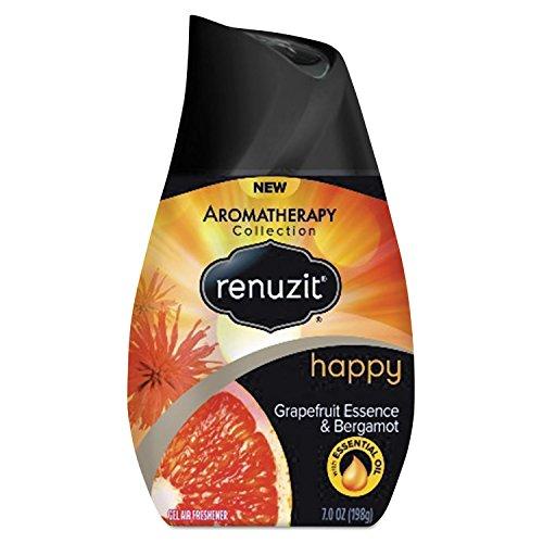 Renuzit DIA 01624 DIA01623CT Adjustable Air Freshener, Grapefruit Essence and Bergamot, 7 oz., Orange/Yellow (Pack of 12) (Yellow Air Freshener compare prices)