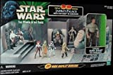 Star Wars 3D Diorama Jabba's Palace with Han Solo in Carbonite