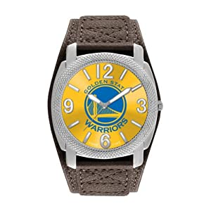 Game Time Mens NBA-DEF-GOL Golden State Warriors Defender Analog Display Japanese... by Game Time