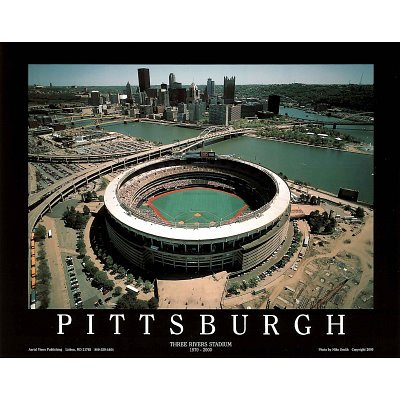 (8x10) Mike Smith Pittsburgh Pirates Three Rivers Stadium Sports Poster Print