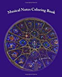 Musical Notes Coloring Book: Relaxing Adult Coloring Book