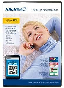 klickTel Telefon- und Branchenbuch Frühjahr 2014