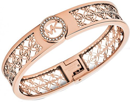 Michael Kors MKJ4147 Rose Gold Fulton Bangle Bracelet